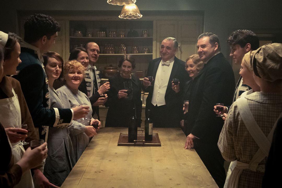 Downton Abbey: Jim Carter, Sophie McShera, Joanne Froggatt, Lesley Nicol