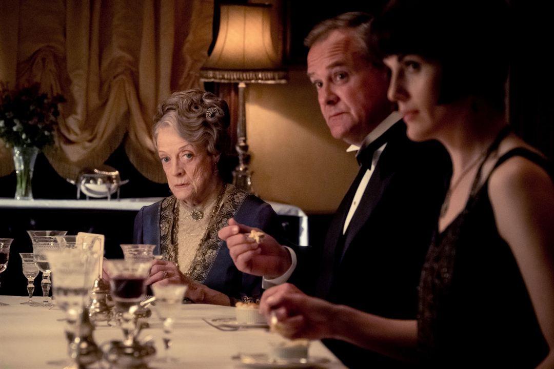Downton Abbey : Foto Hugh Bonneville, Maggie Smith