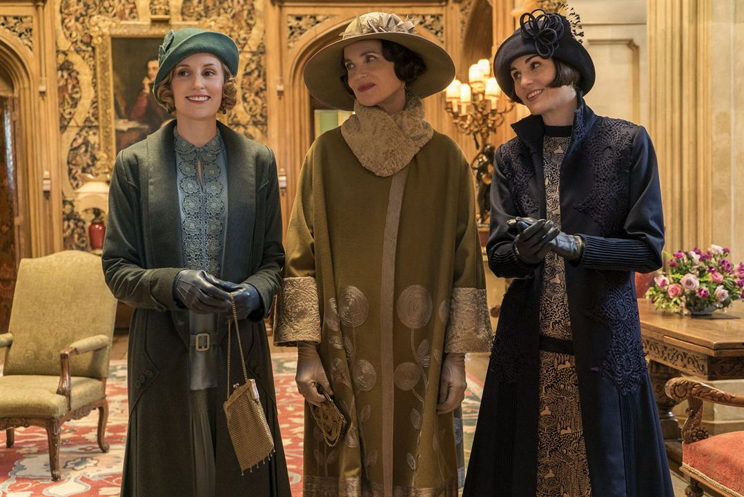 Downton Abbey : Foto Laura Carmichael, Michelle Dockery, Raquel Cassidy
