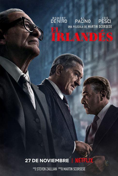 El irlandés : Cartel