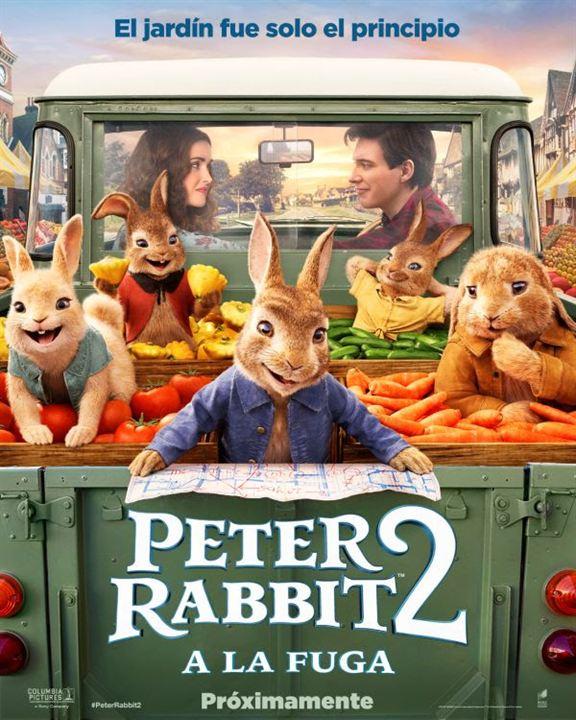 Peter Rabbit 2: A la fuga : Cartel