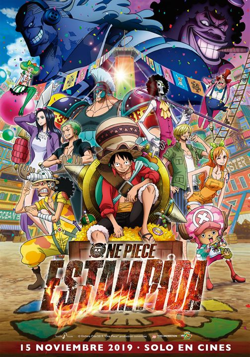 One Piece: Estampida : Cartel