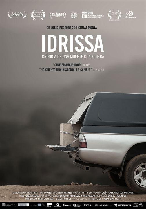 Idrissa, crónica de una muerte cualquiera : Cartel