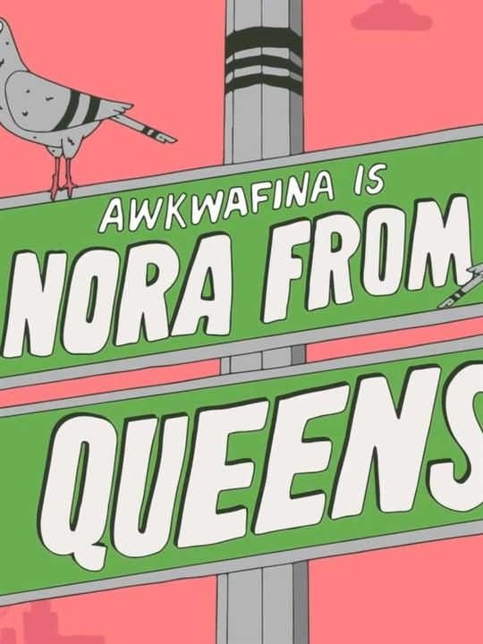 Awkwafina Is Nora from Queens : Cartel