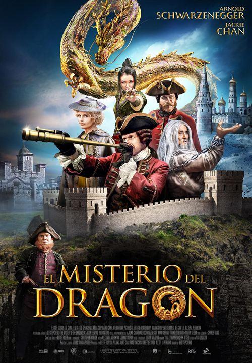 El misterio del dragón : Cartel