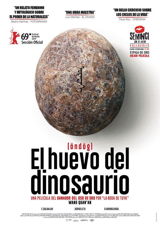 El huevo del dinosaurio : Cartel