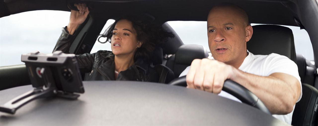Fast & furious 9. La saga Fast & Furious : Foto Michelle Rodriguez, Vin Diesel