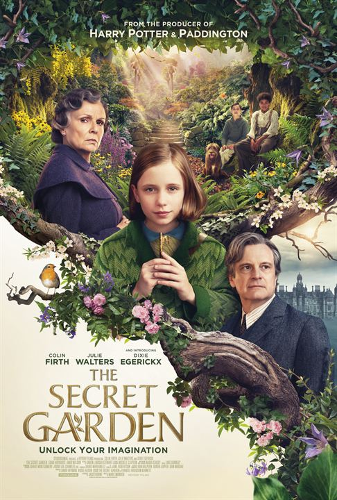 El jardín secreto : Cartel