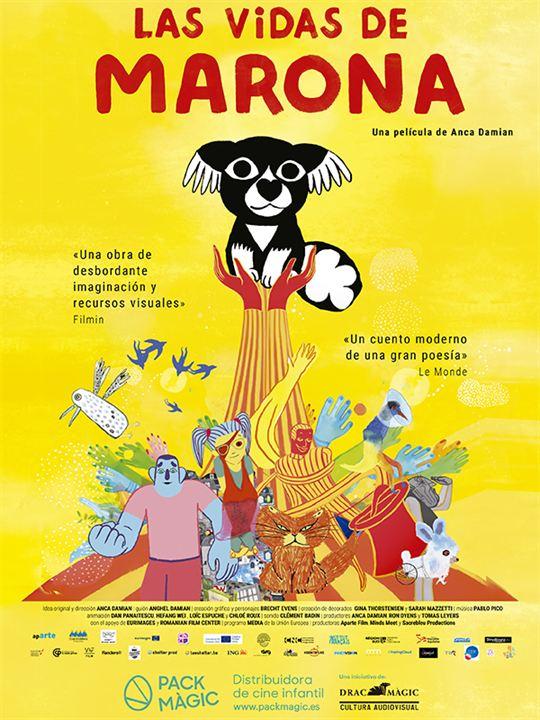Las vidas de Marona : Cartel