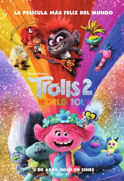 Trolls 2: Gira mundial : Cartel