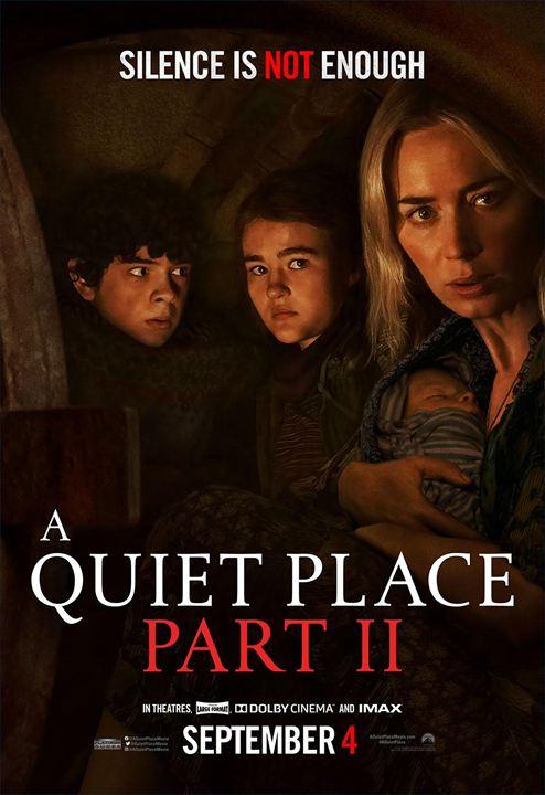 Un lugar tranquilo 2 : Cartel
