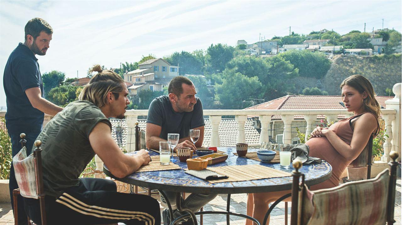 Foto Adèle Exarchopoulos, François Civil, Gilles Lellouche, Karim Leklou