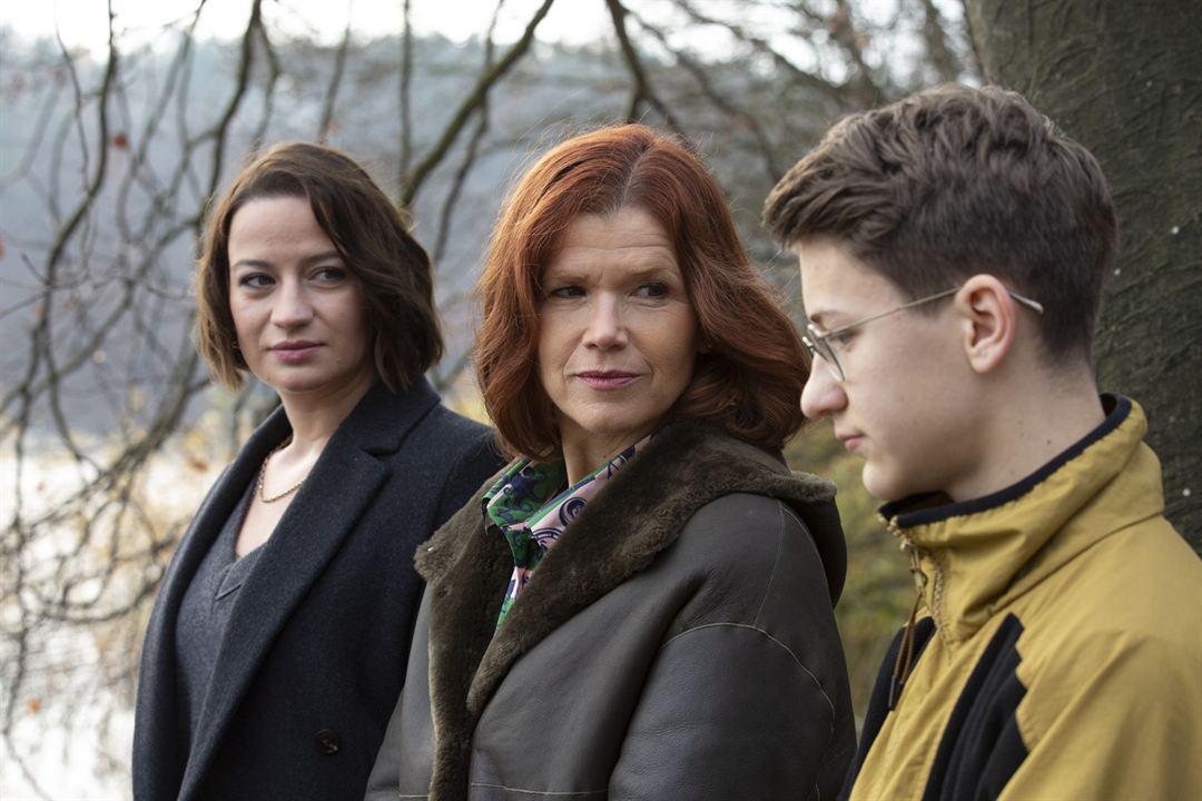 Foto Anke Engelke, Juri Winkler, Nina Gummich