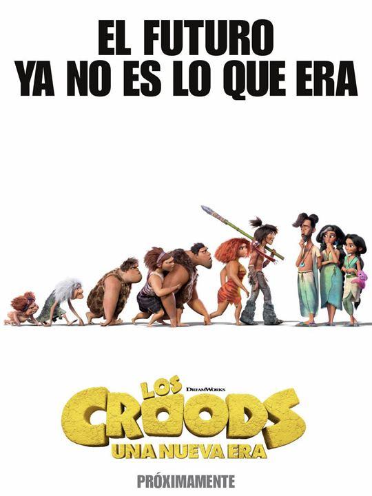 Los Croods: Una nueva era : Cartel