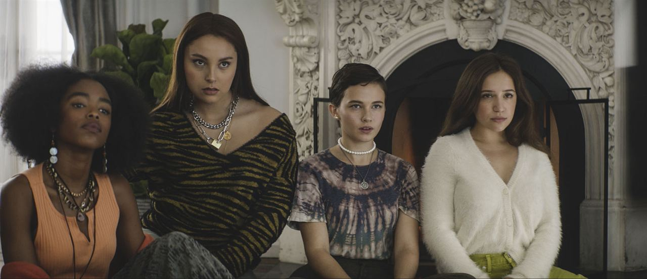 Jóvenes y brujas : Foto Cailee Spaeny, Gideon Adlon, Lovie Simone