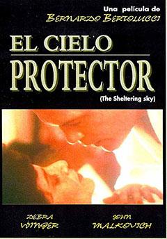El cielo protector : Cartel