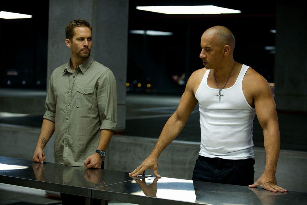 Fast & Furious 6 : Foto Paul Walker, Vin Diesel