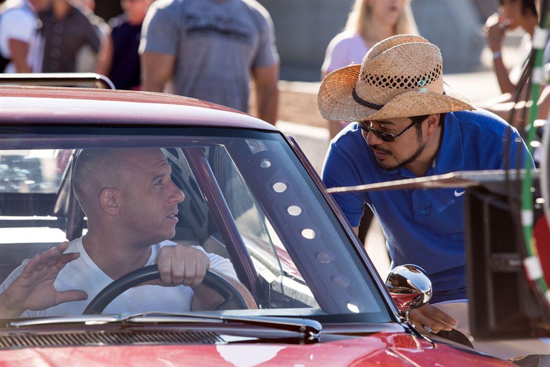 Fast & Furious 6 : Foto Justin Lin, Vin Diesel