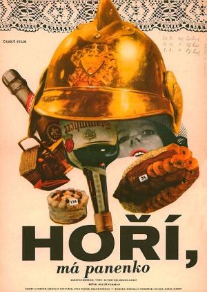 ¡Al fuego, bomberos! : Cartel
