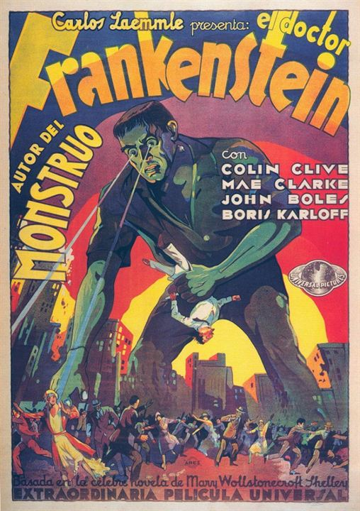 El Doctor Frankenstein : Cartel