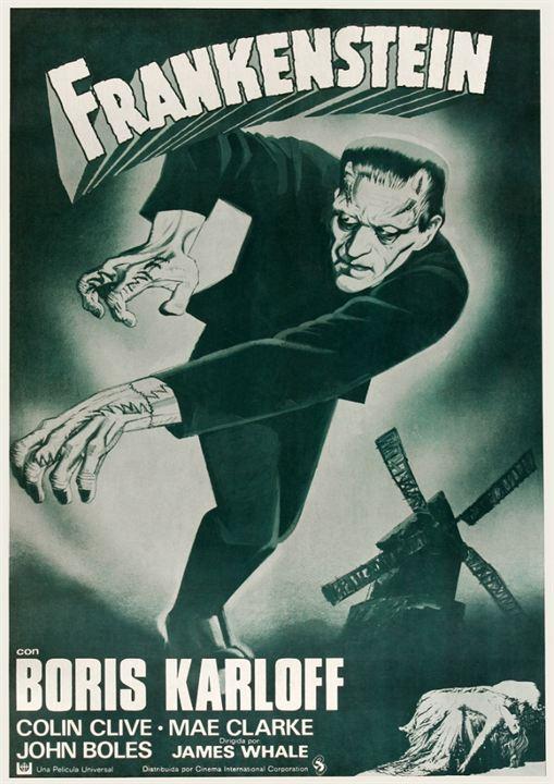 El Doctor Frankenstein : Cartel