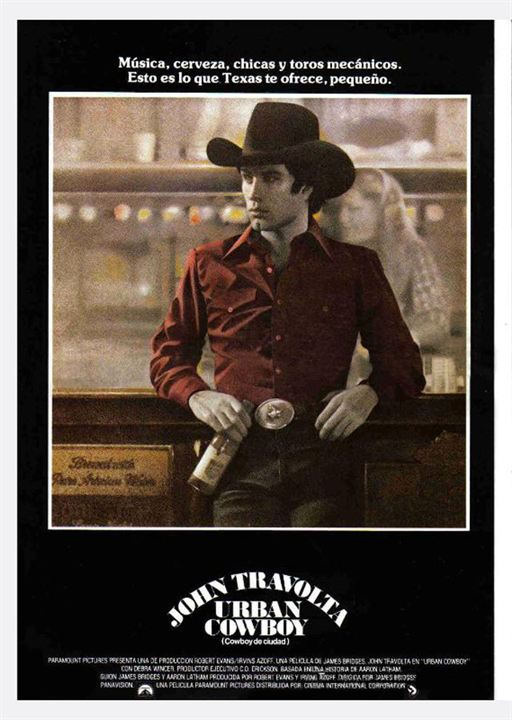 Cartel De Urban Cowboy Cowboy De Ciudad Poster 1