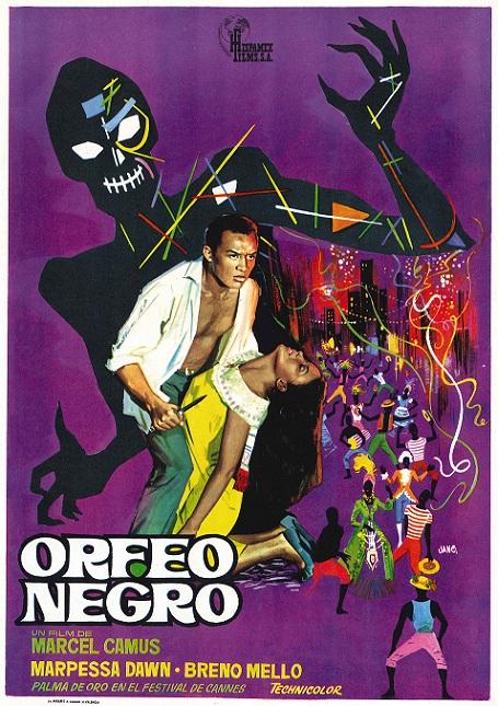 Orfeo Negro : Cartel