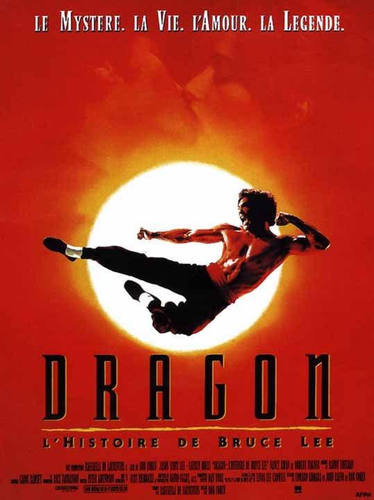 Dragón: La vida de Bruce Lee : Cartel