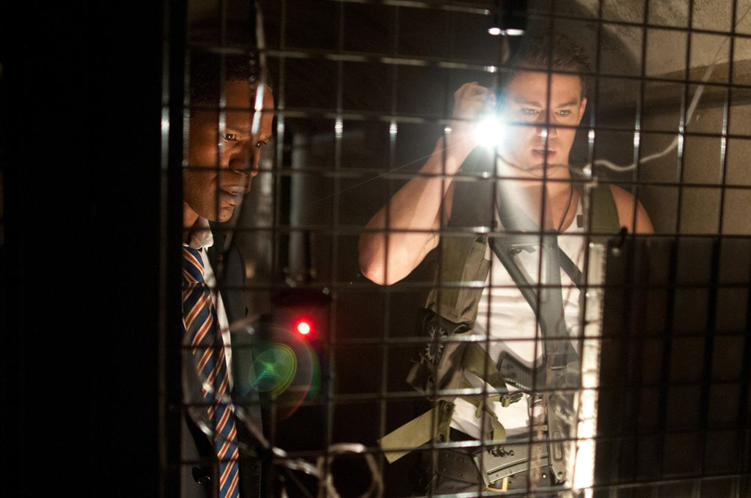 Asalto al poder : Foto Channing Tatum, Jamie Foxx