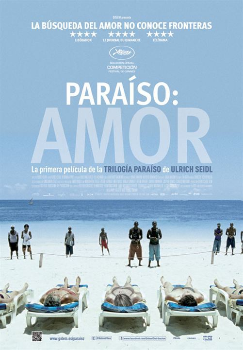 Paraíso: Amor : Cartel