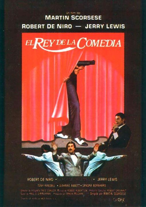El rey de la comedia : Cartel