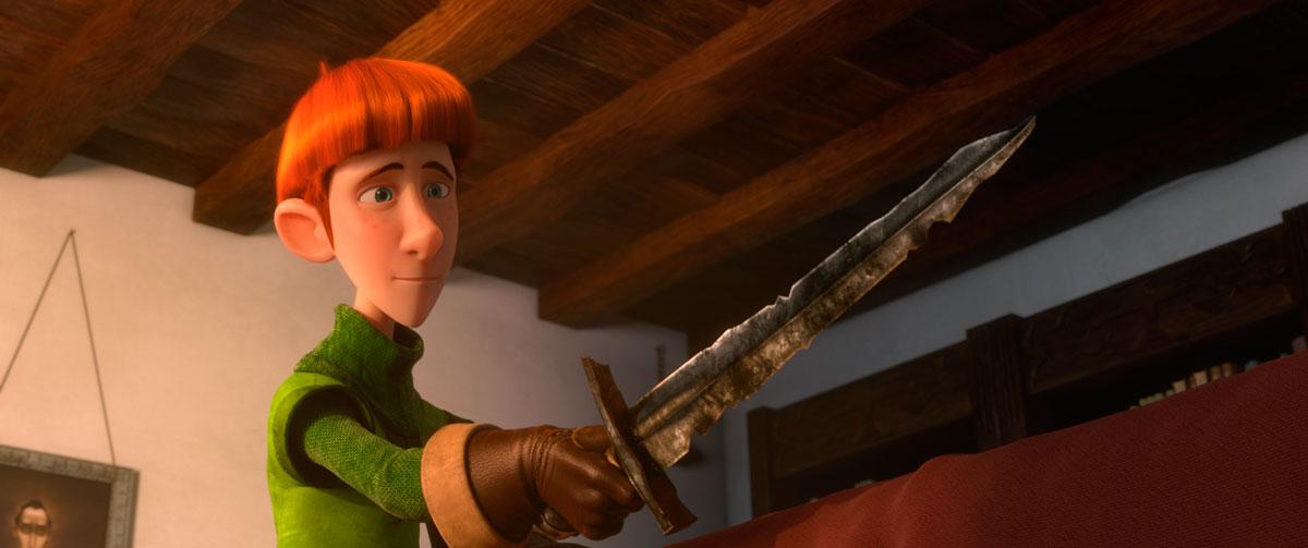 Justin y la espada del valor : Foto
