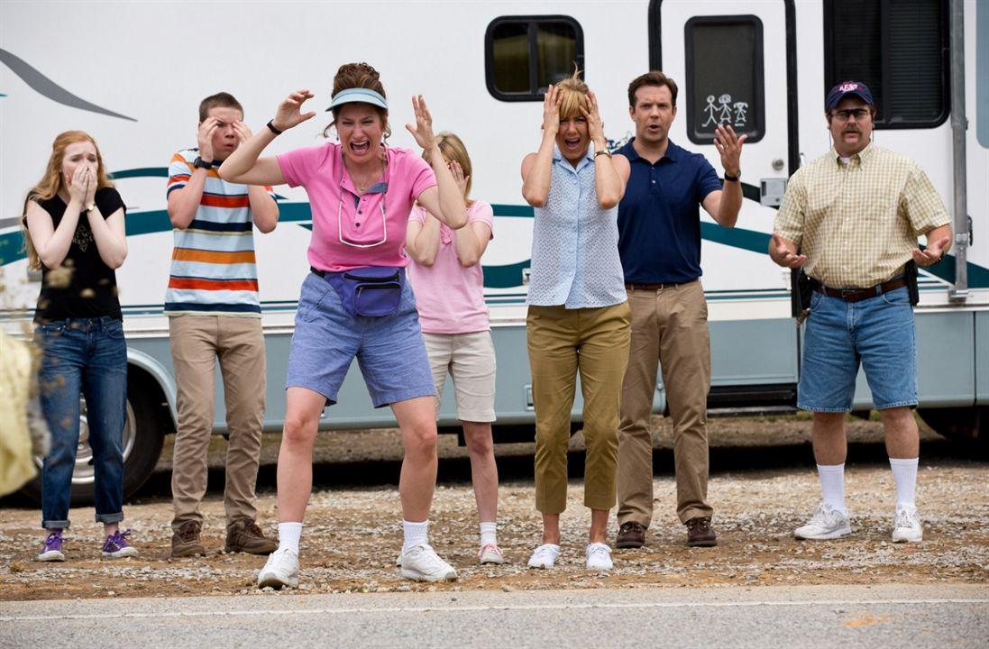 Somos los Miller : Foto Emma Roberts, Jason Sudeikis, Jennifer Aniston, Kathryn Hahn, Laura-Leigh