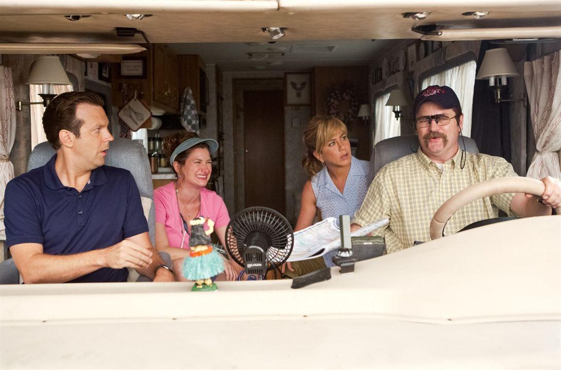 Somos los Miller : Foto Jason Sudeikis, Jennifer Aniston, Kathryn Hahn, Nick Offerman