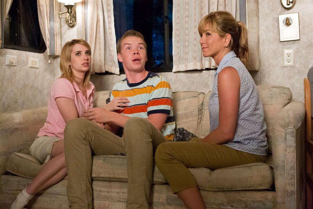 Somos los Miller : Foto Emma Roberts, Jennifer Aniston, Will Poulter