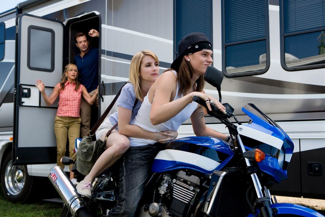 Somos los Miller : Foto Emma Roberts, Jason Sudeikis, Jennifer Aniston, Mark L. Young