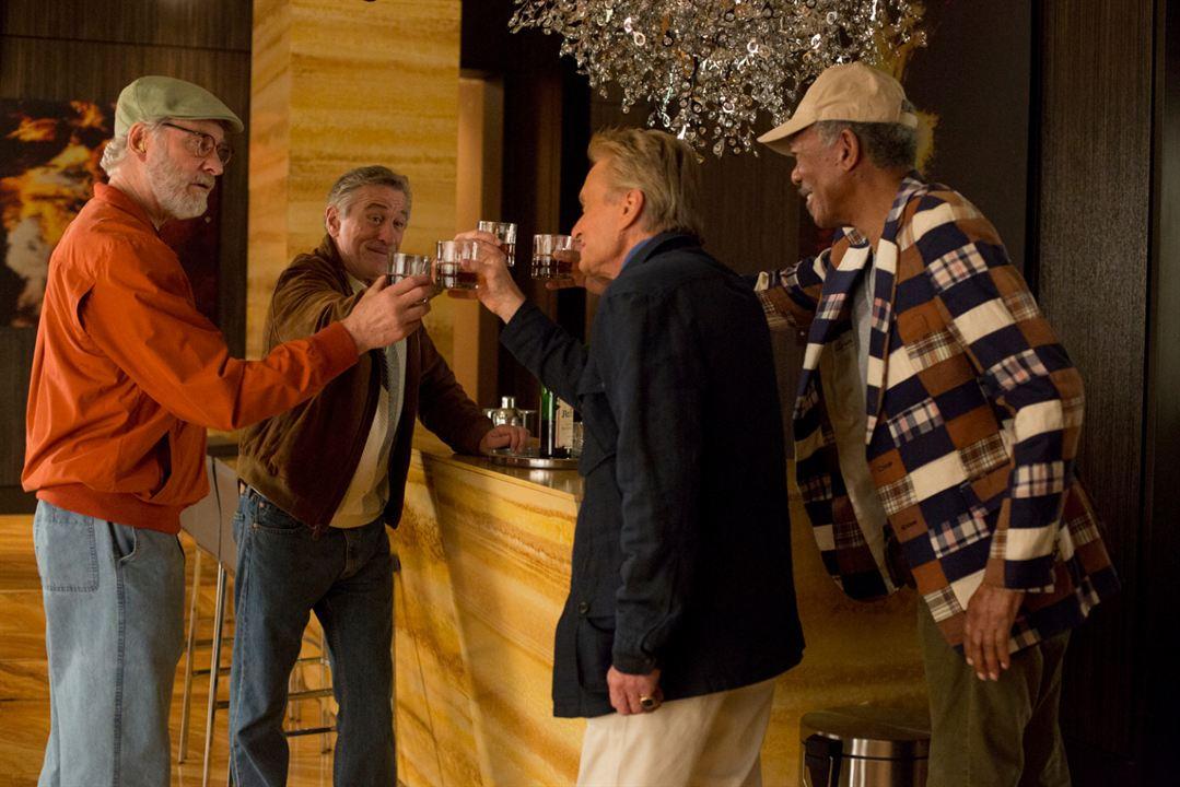 Plan en Las Vegas : Foto Kevin Kline, Michael Douglas, Morgan Freeman, Robert De Niro