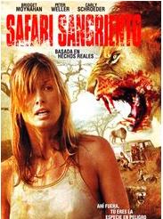 Safari sangriento : Cartel Carly Schroeder, Jamie Bartlett, Peter Weller
