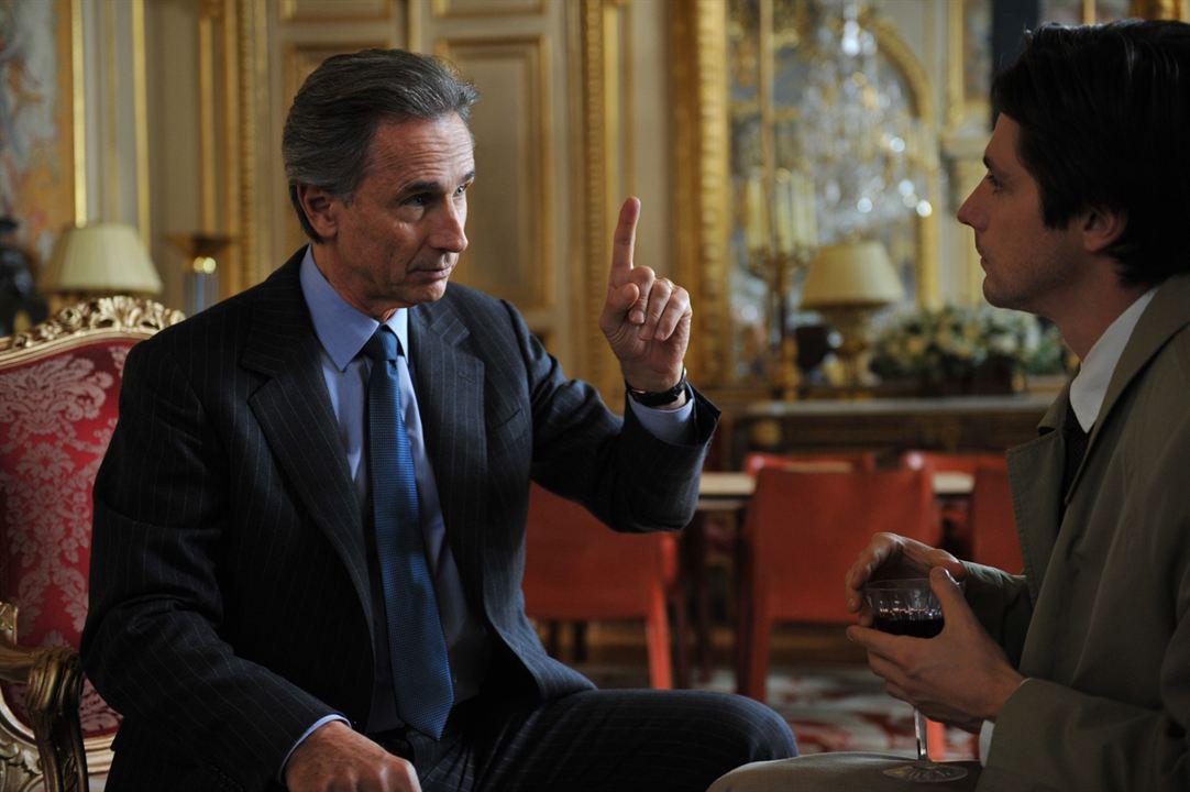 Crónicas diplomáticas. Quai d'Orsay : Foto Raphaël Personnaz, Thierry Lhermitte
