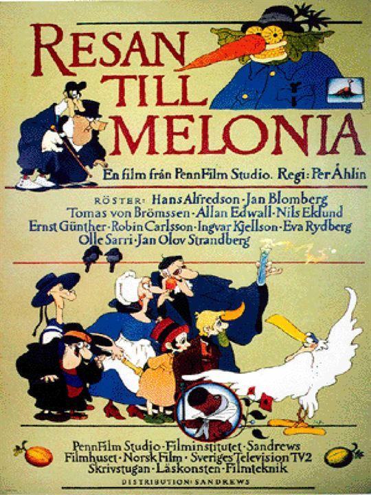 Viatge a Melonia : Cartel