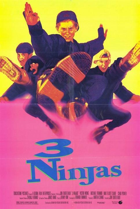 Tres pequeños Ninjas : Cartel