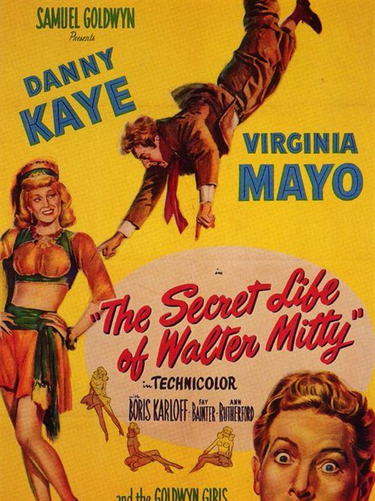 La vida secreta de Walter Mitty : Cartel