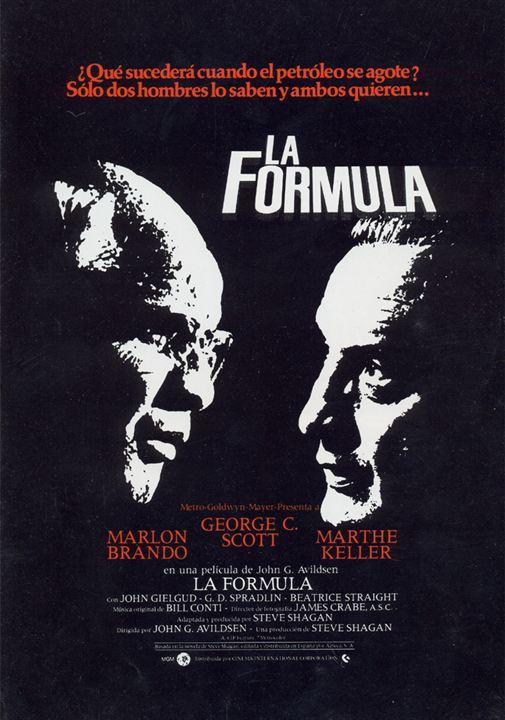 La fórmula : Cartel