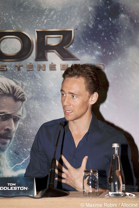 Thor: El mundo oscuro : Couverture magazine Tom Hiddleston