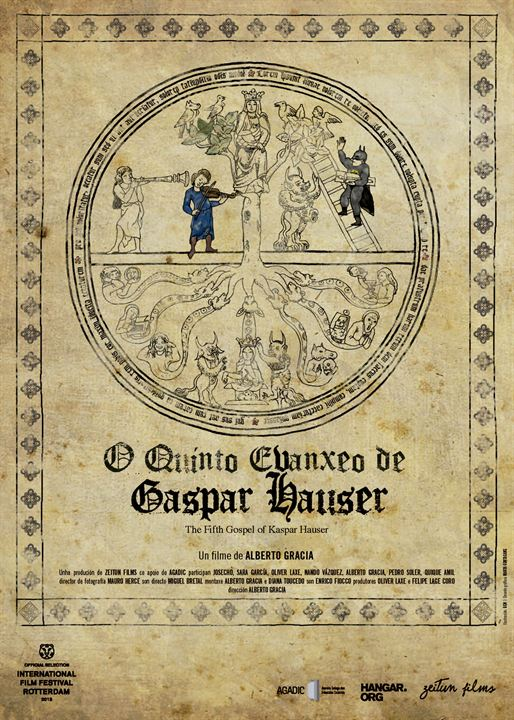 O quinto evanxeo de Gaspar Hauser : Cartel