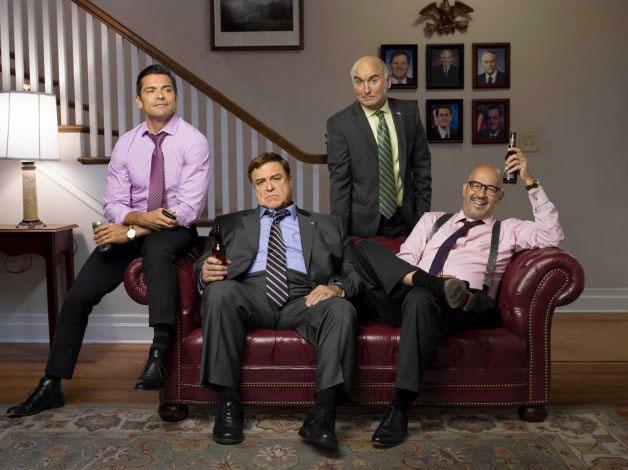 Foto Clark Johnson, John Goodman, Mark Consuelos, Matt Malloy
