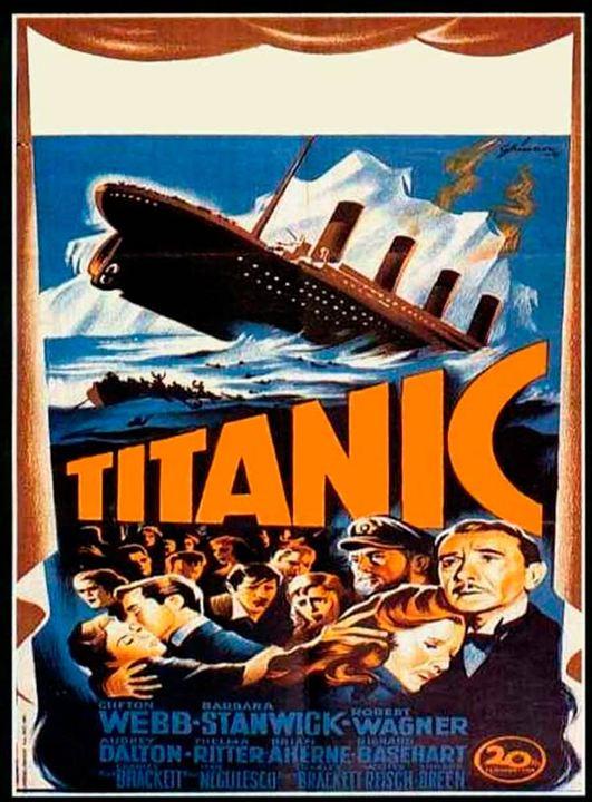 El hundimiento del Titanic : Cartel