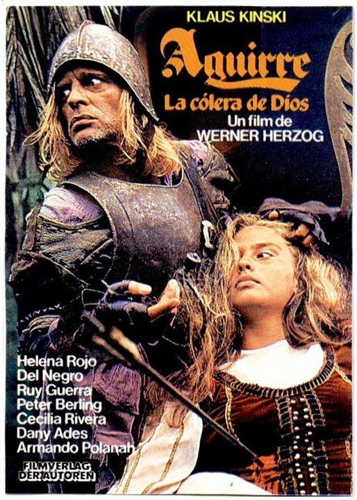 Aguirre, la cólera de Dios : Cartel