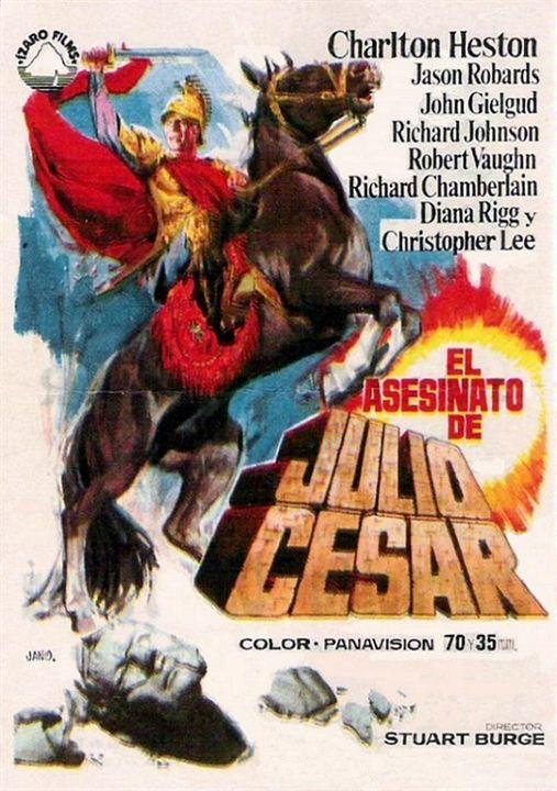 Cartel de Asesinato de Julio César - Poster 1 - SensaCine.com