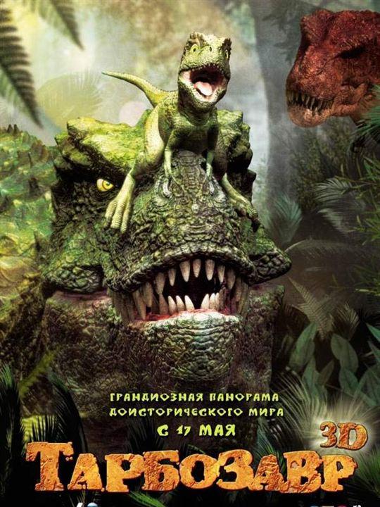 Tarbosaurus 3D : Cartel